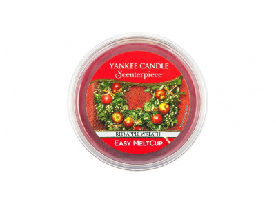 Yankee Candle Scenterpiece Meltcup Vosk Red Apple Wreath