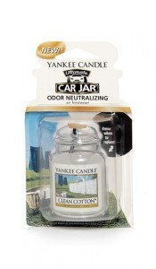 Yankee Candle Clean Cotton Vůně do auta Luxusní visačka