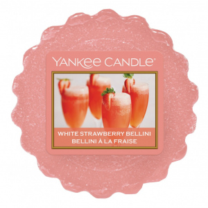 Yankee Candle White Strawberry Bellini  vosk do aromalampy 22 g