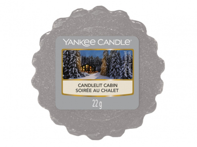 Yankee Candle Candlelit Cabin vosk do aromalampy 22 g