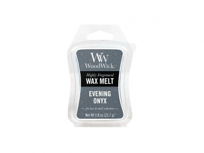 WoodWick Evening Onyx vonný vosk 22,7g