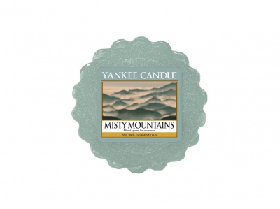 Yankee Candle Misty Mountains Vonný vosk do aromalampy 22g