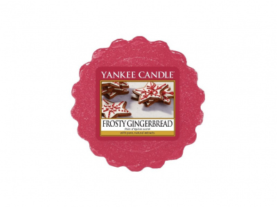 Yankee Candle Frosty Gingerbread Vonný vosk do aromalampy 22g