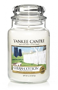 Yankee Candle Clean Cotton 623g