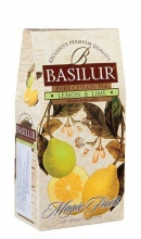 Basilur papír 100g BLACK LEMON LIME