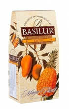 Basilur papír 100g BLACK EXOTIC FRUITS