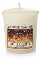 Yankee Candle All is Bright votivní svíčka 49g