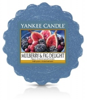Yankee Candle Mulberry & Fig Delight Vonný vosk do aromalampy 22g