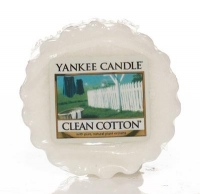 Yankee Candle Clean Cotton Vonný vosk do aromalampy 22g