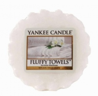 Yankee Candle Fluffy Towels Vonný vosk do aromalampy 22g